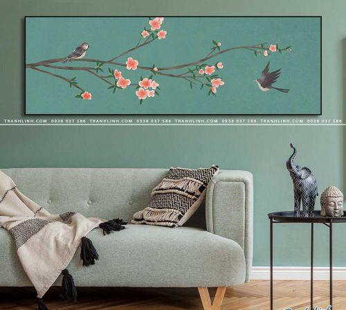 tranh canvas hoa 2115