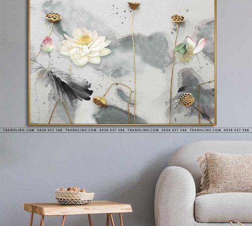tranh canvas hoa 2118