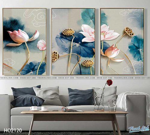 tranh canvas hoa 2120