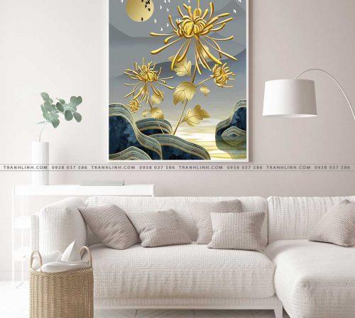 tranh canvas hoa 2121