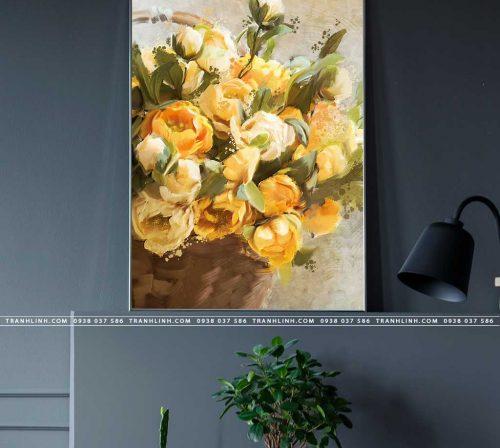 tranh canvas hoa 2126