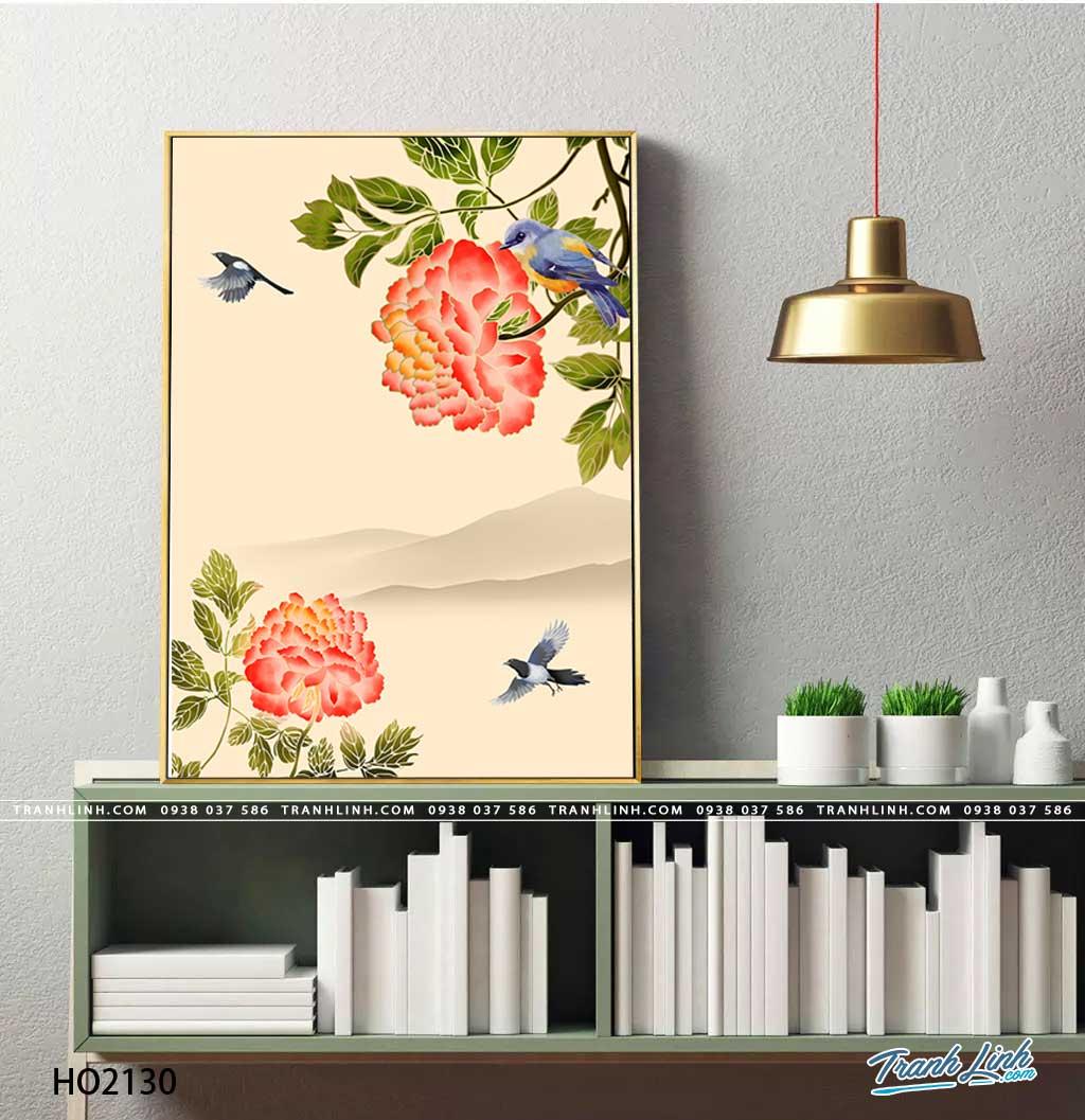 tranh canvas hoa 2130