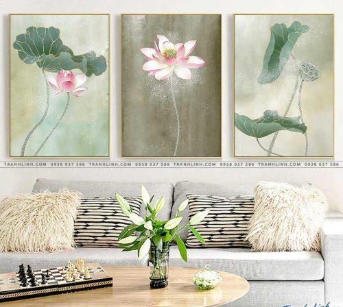 tranh canvas hoa 2141