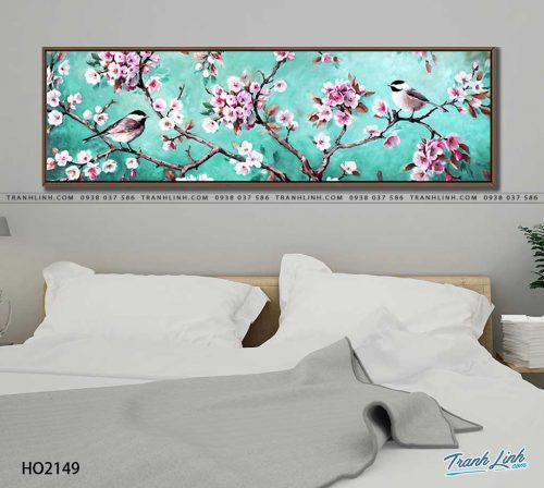 tranh canvas hoa 2149