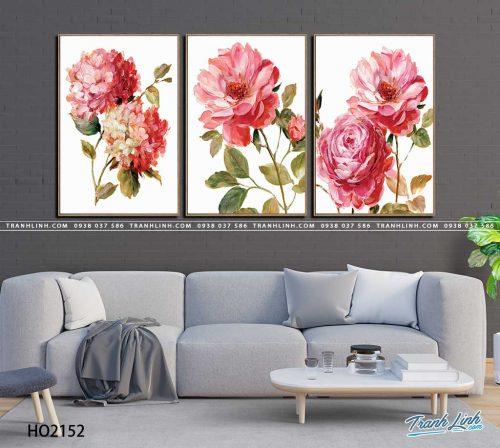 tranh canvas hoa 2152