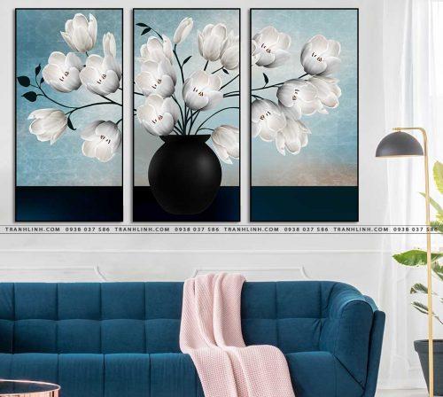 tranh canvas hoa 2154