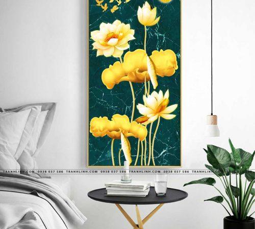 tranh canvas hoa 2155