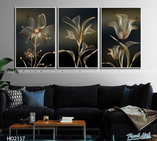tranh canvas hoa 2157