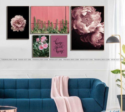 tranh canvas hoa 2168