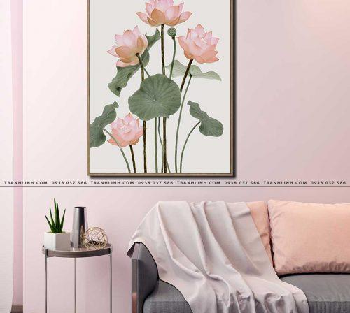 tranh canvas hoa 2170