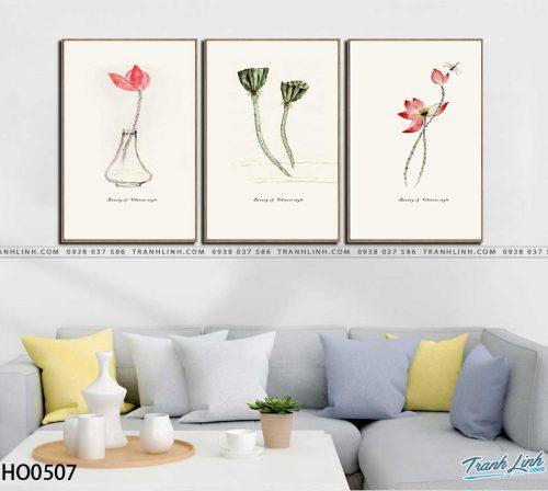 tranh canvas hoa 507