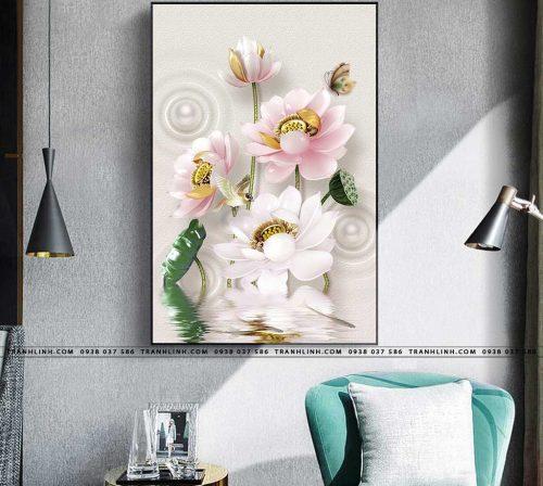 tranh canvas hoa 508