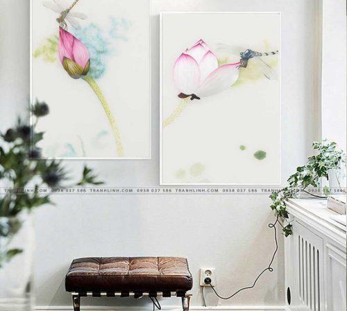 tranh canvas hoa 531