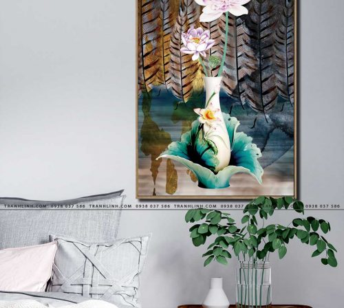 tranh canvas hoa 532