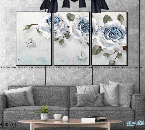 tranh canvas hoa 533