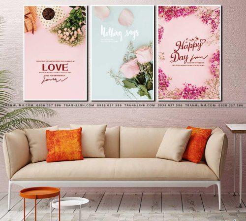 tranh canvas hoa 536