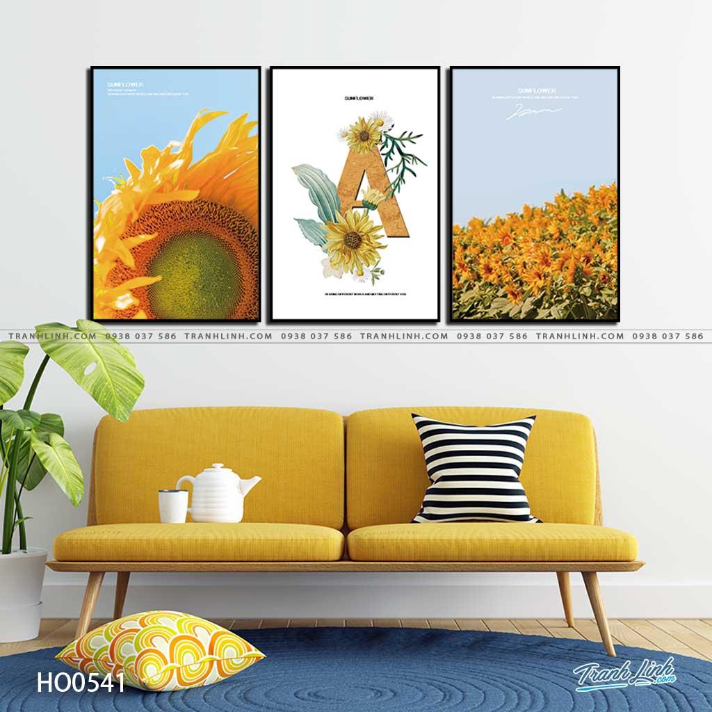 tranh canvas hoa 541