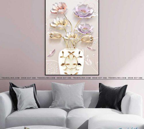 tranh canvas hoa 546