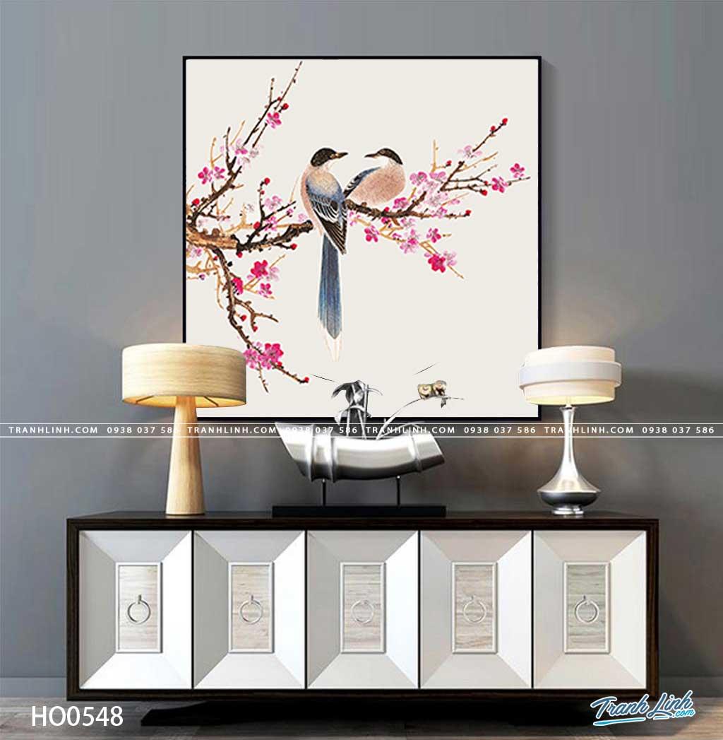 tranh canvas hoa 548