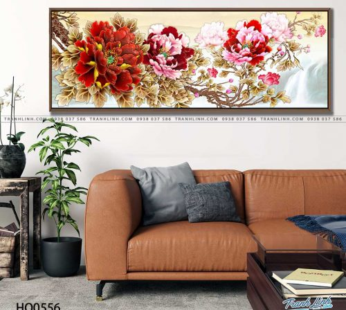 tranh canvas hoa 556