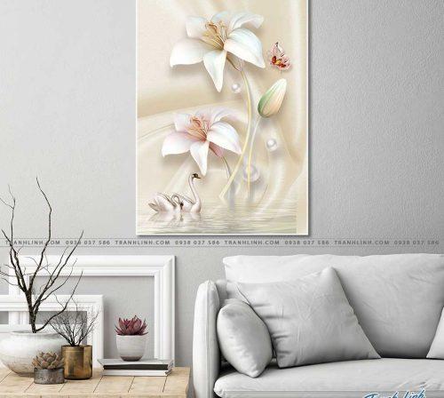 tranh canvas hoa 570