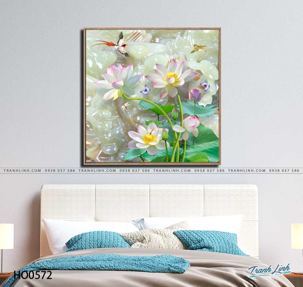 tranh canvas hoa 572