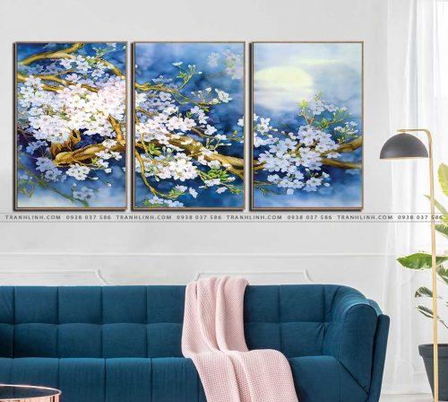 tranh canvas hoa 576