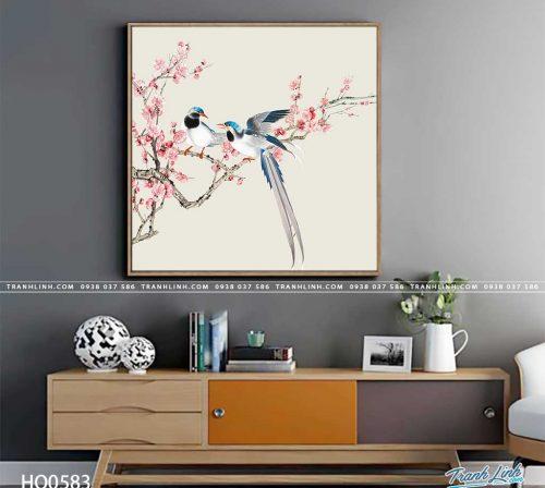 tranh canvas hoa 583