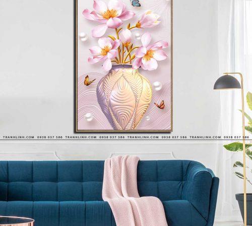 tranh canvas hoa 585