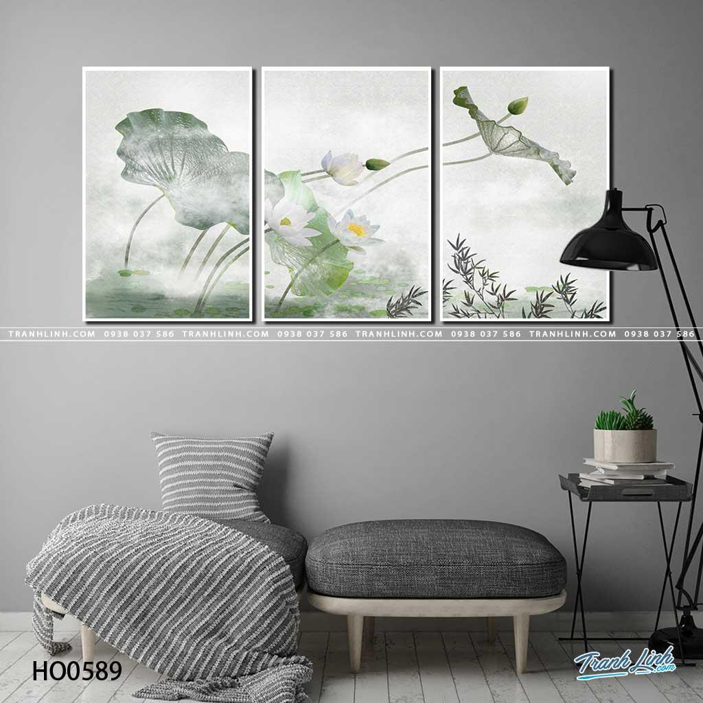tranh canvas hoa 589