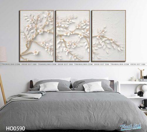 tranh canvas hoa 590