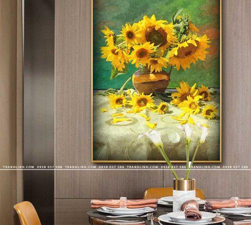 tranh canvas hoa 593