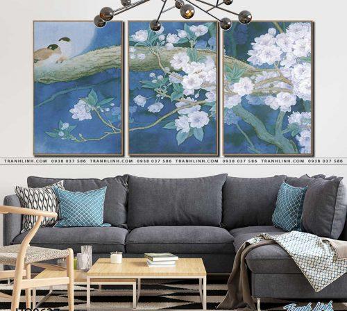tranh canvas hoa 627