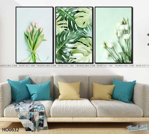 tranh canvas hoa 632