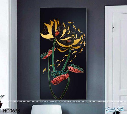 tranh canvas hoa 638