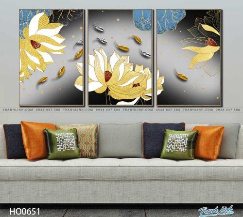 tranh canvas hoa 651