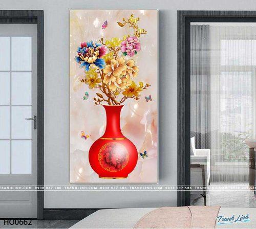 tranh canvas hoa 662