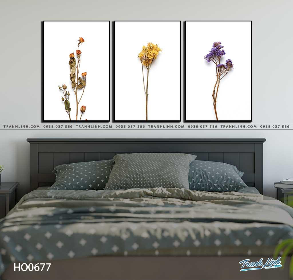 tranh canvas hoa 677