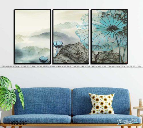 tranh canvas hoa 685