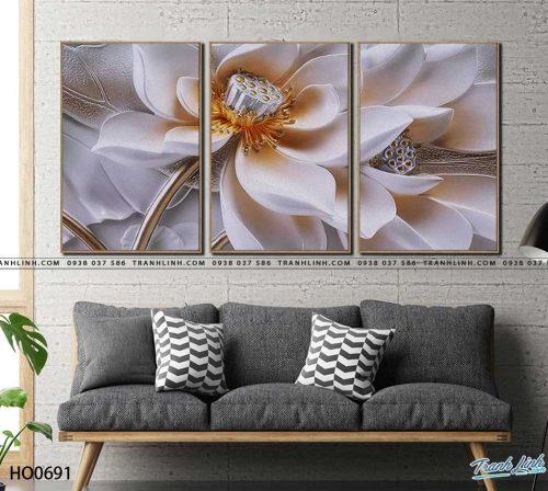tranh canvas hoa 691