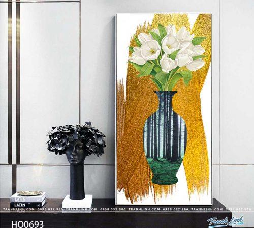 tranh canvas hoa 693