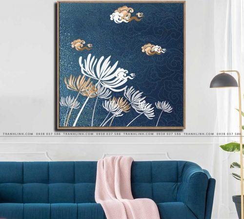 tranh canvas hoa 705