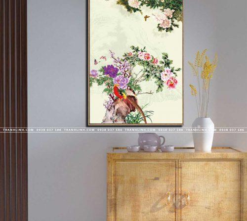 tranh canvas hoa 710