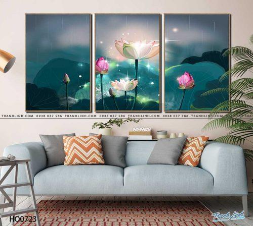 tranh canvas hoa 723