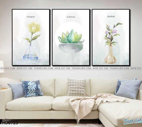 tranh canvas hoa 725