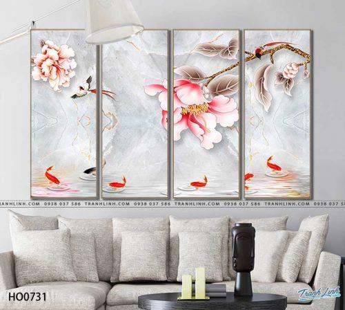 tranh canvas hoa 731