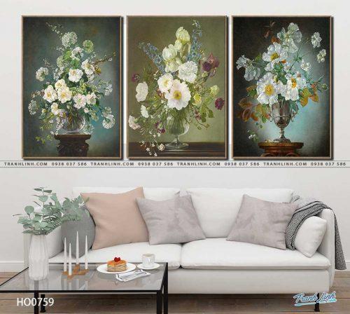 tranh canvas hoa 759