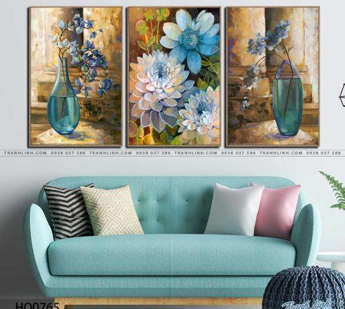 tranh canvas hoa 765