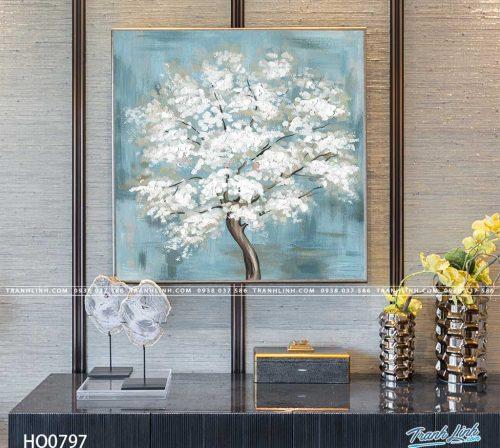tranh canvas hoa 797