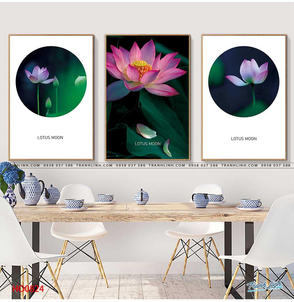tranh canvas hoa 824